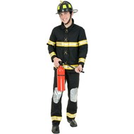 Fireman Plus Adult Costume