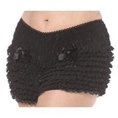 Bijou Boutique Ruffled Pantaloons - Black