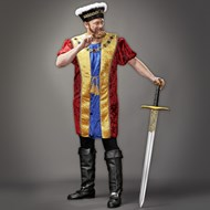 King Henry VIII Plus Adult Costume