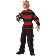 A Nightmare on Elm Street Freddy Krueger Child Costume Kit