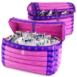 Inflatable Princess Treasure Chest Cooler