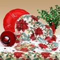 Poinsettia Deluxe Party Kit