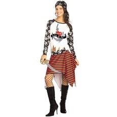 Mutiny Pirate Girl Teen Costume