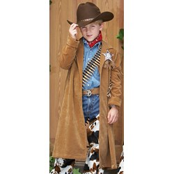 Cowboy Duster Child Costume