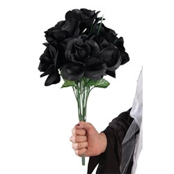 Black Rose Bouquet