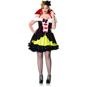 Queen of Hearts Plus Adult Costume