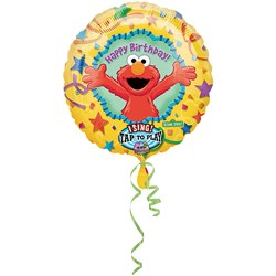 Elmo Jumbo Singing 28″ Foil Balloon