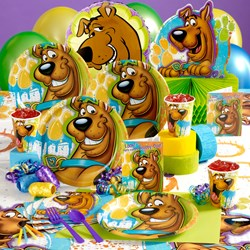 Scooby Doo Deluxe Party Kit