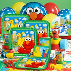 Sesame Street Sunny Days Deluxe Party Kit