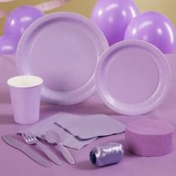 Luscious Lavender (Lavender) Deluxe Party Kit