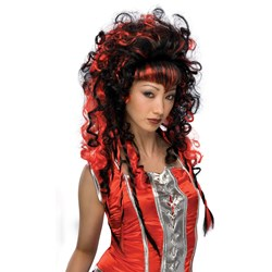 Frighten Vamp Wig Adult