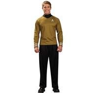 Star Trek Movie (2009) Gold Shirt Deluxe Adult Costume