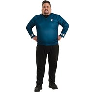 Star Trek Movie 2009 Blue Deluxe Adult Plus Costume