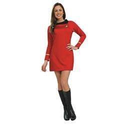 Star Trek Classic Red Dress Deluxe Adult Costume