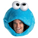Sesame Street Cookie Monster Adult Headpiece