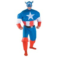 Captain America Inflatable Adult Costume