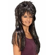 Tinsel Rocker Wig Adult
