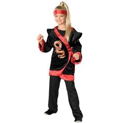 Red Dragon Ninja Child Costume