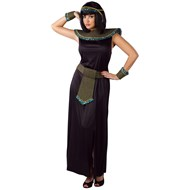 Black/Gold Cleopatra Adult Costume