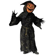 Bobble Head Pumpkin Adult Costume