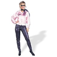 Pink Ladies Satin Jacket Adult