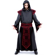 Gothic Priest Adult Plus Costume