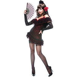 French Kiss Lady of Spain Adult Costume