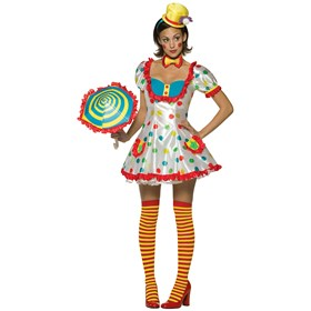 Clown (Female) Adult Costume