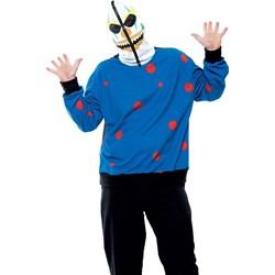 Zipper the Clown Adult Plus Costume