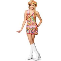 Groovy Hippie Teen Costume