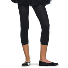 Black Footless Tights Child