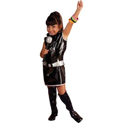 Black Go Go Dress Child Costume