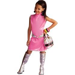 Pink Go Go Dress Child Costume