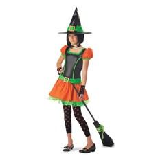 Sassy Pumpkin Witch Tween Costume