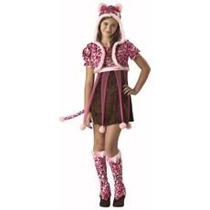 Kutie Kitten Tween Costume