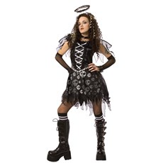 Gothic Skull Dark Angel Child Costume
