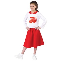 Grease Cheerleader Rydell Child Costume