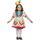 Clown Girl Child Costume