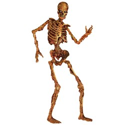 Jointed Scary Skeleton Cutout