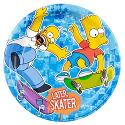 Simpsons Dessert Plates (8 count)
