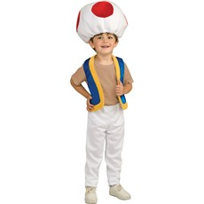 Super Mario Bros. - Toad Child Costume