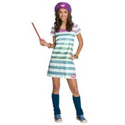 Wizards of Waverly Place - Alex Striped Dress Child Costume