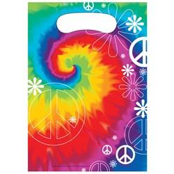 Tie Dye Fun Treat Bags (8 count)