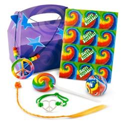 Tie Dye Fun Party Favor Kit