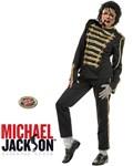 Michael Jackson Costume - Black Military Jacket