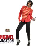 Michael Jackson Costume - Red Military Jacket