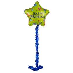 "Happy Birthday Airwalker 34"""" Foil Balloon"
