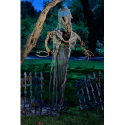 Hanging Tree Man with Light Up Eyes