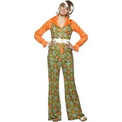 Brady Bunch Carol Brady Adult Costume