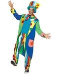 Long Coat Louie Clown Costume